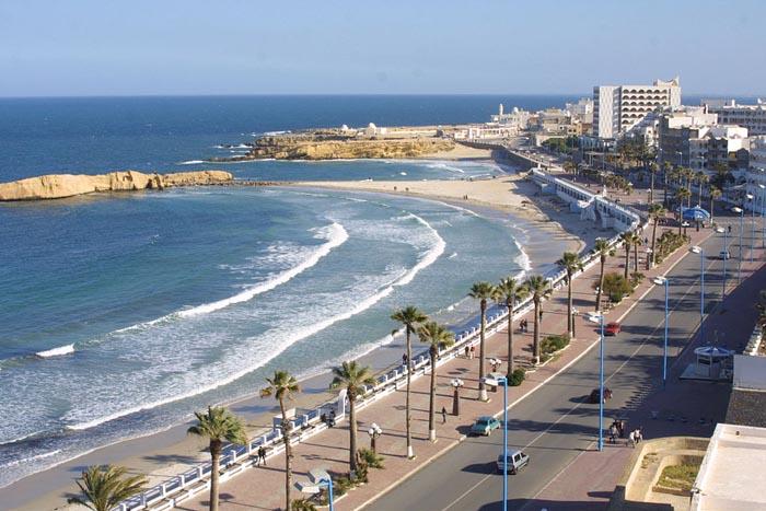 какое море в тунисе монастир